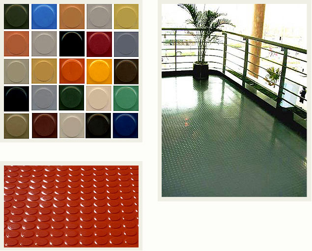 Achieva Rubber Corporation Rubber Floor Tile